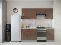"Кухня ""София"" 2,1м. Шоколад глянец - фото 11869"