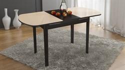 Стол обеденный раздвижной со стеклом на деревянных ножках «Милан» СМ-203.02.12 Венге Цаво - фото 6789