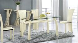Обеденный стол со стеклом «А093А» A093A - фото 6791
