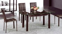 Стол обеденный со стеклом «А044С» - фото 6798