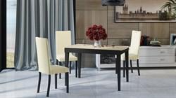 Обеденный раздвижной стол со стеклом «Танго Т2» С-362 - фото 6809