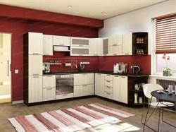 Кухонный гарнитур угловой Венге/Лоредо - фото 7293