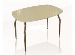 """Стол обеденный со стеклом """"Кармен"""" - фото 8871"""
