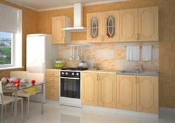 "Кухня МДФ ""Берёза"" 2 м. - фото 8993"