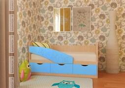 """Кровать """"Бабочки"""" 2 метра"""