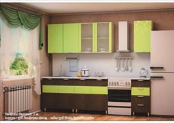 """Кухня """"Карина Весна Лайм"""" 2 м."""