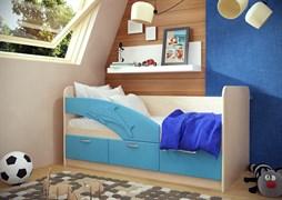 """Кровать """"Дельфин""""  длиной 1800 мм."""