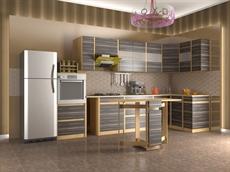 Модульные кухни из ЛДСП