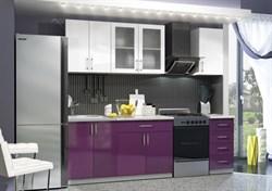 """Кухня МДФ """"ДИАЛ Виолетта"""" 1,8м - фото 11032"""