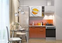 """Кухонный гарнитур """"Олива""""1,6 м. оранж - фото 11246"""