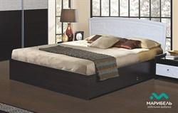 Кровать двойная МДФ с подъёмным механизмом - фото 11387