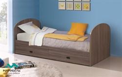 Кровать ЛДСП с выдвижными ящиками - фото 11390