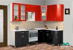 """Набор кухонной мебели """"Ника-1/Мыло 128"""" 2,4*1,5 м. - фото 11458"""
