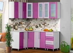 """Набор кухонной мебели """"Ника-1/Мыло 224"""" 1,8*1,4 м. - фото 11473"""