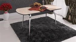 Стол обеденный раздвижной со стеклом «Милан» СМ-203.01.12 Венге Цаво - фото 6787
