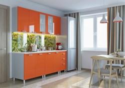 """Кухня """"Модерн"""" Оранж 1,7м. - фото 7086"""