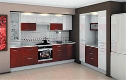 """Кухня """"Эдель"""" Красные розы - фото 8529"""