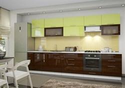 """Кухня """"Ника"""" Лайм/Шоколад - фото 9645"""
