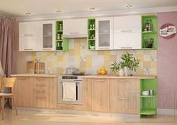 Кухня София с корпусом Лайм