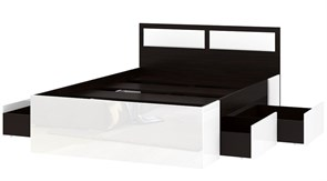 """Кровать """"Беатрис 1600"""" с ящиками"""