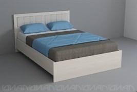 """Кровать с мягким изголовьем """" Кантри"""""""