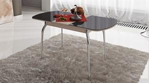 Стол обеденный раздвижной со стеклом «Милан»