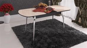 Стол обеденный раздвижной со стеклом «Милан» СМ-203.01.12 Венге Цаво