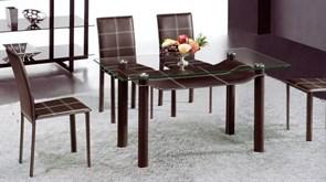 Стол обеденный со стеклом «А044С»