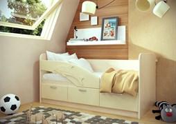 """Кровать """"Дельфин"""" длиной 1600 мм."""